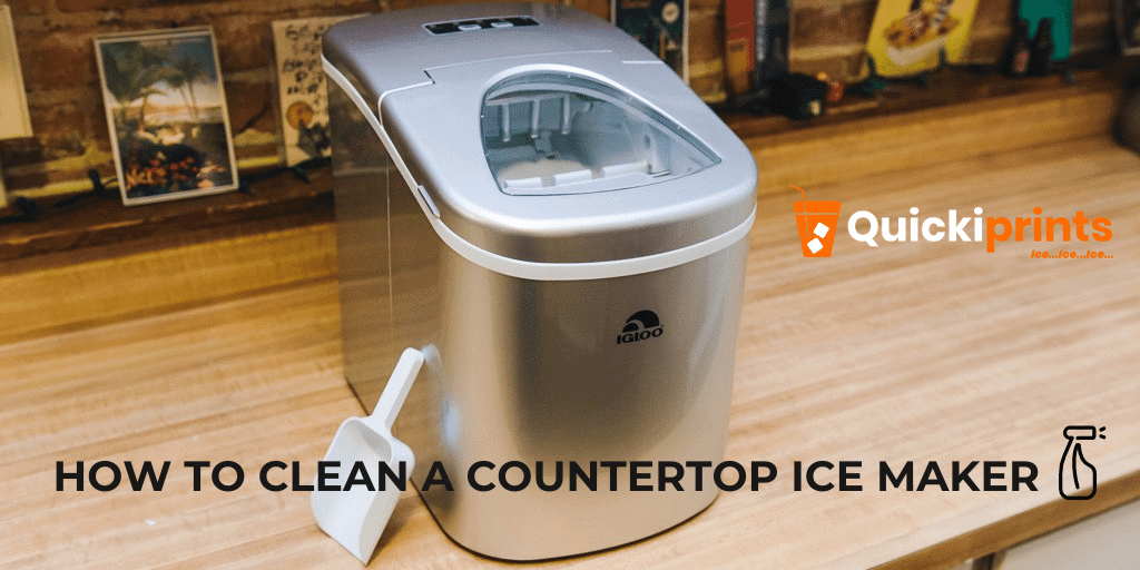cleaning a portable ice maker